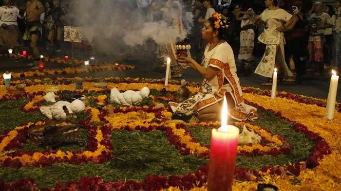 dia de muertos prehispanico