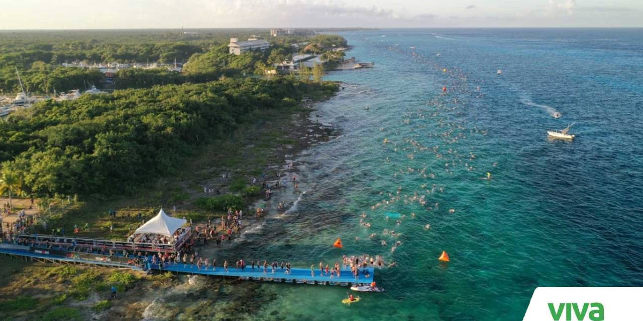 Disfruta el Caribe con el Ironman Cozumel