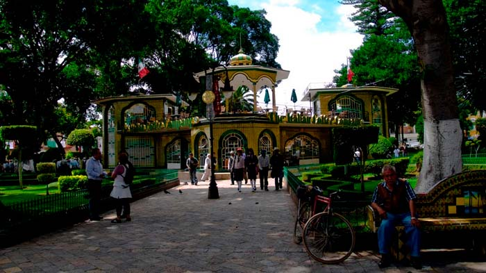 zocalo y centro historico atlixco