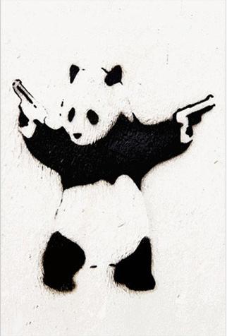 A Bad Panda via Dot and Bo