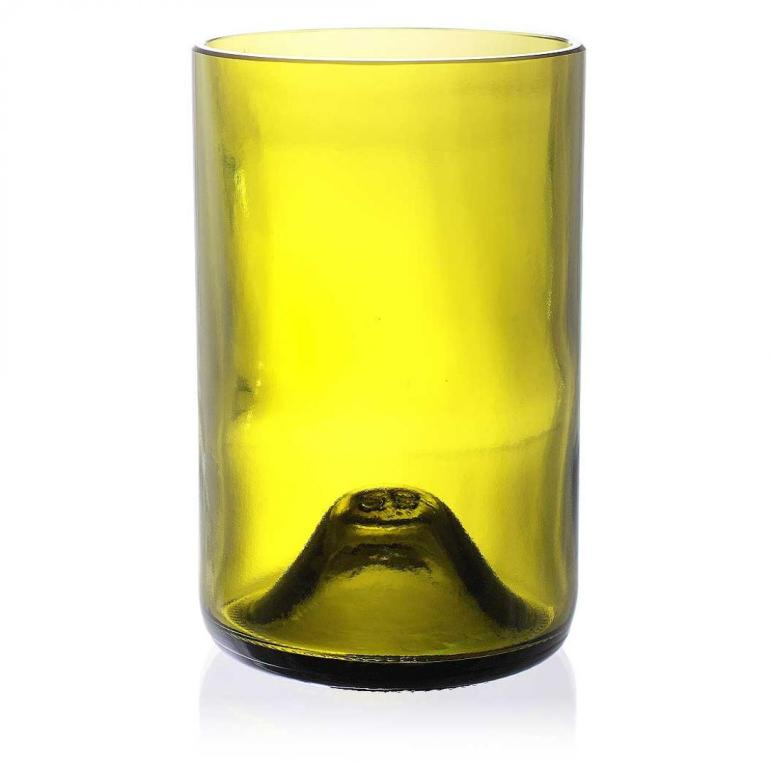Naked Drinkware Set of 4 in Yellow from Inhabit Living - USD 40,00
