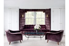 COLOR OF THE MONTH AUBERGINE INTERIORS
