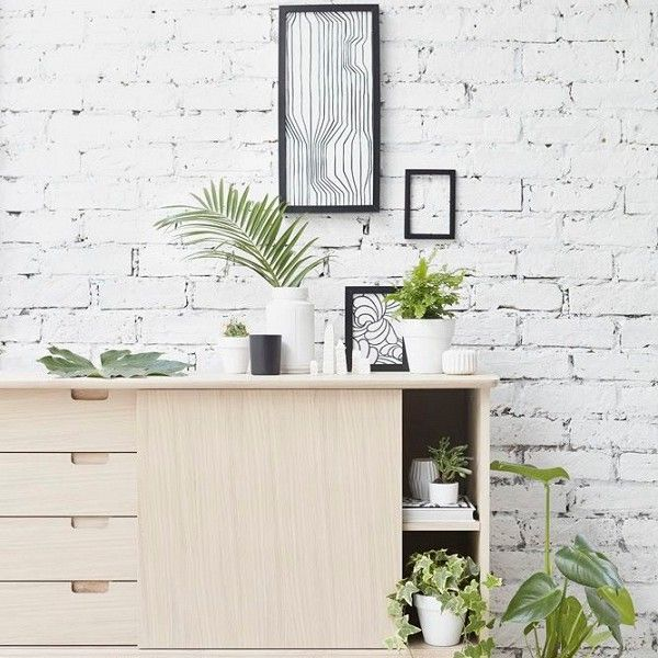 Mid Century inspired sideboard by newcomer design company Out and Out Original - via Dear Designer