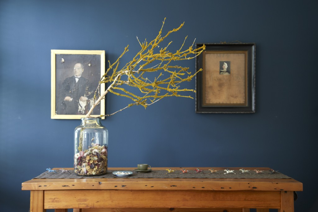 COLOR OF THE MONTH STIFFKEY BLUE