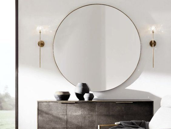 ON TREND: THE ROUND MIRROR
