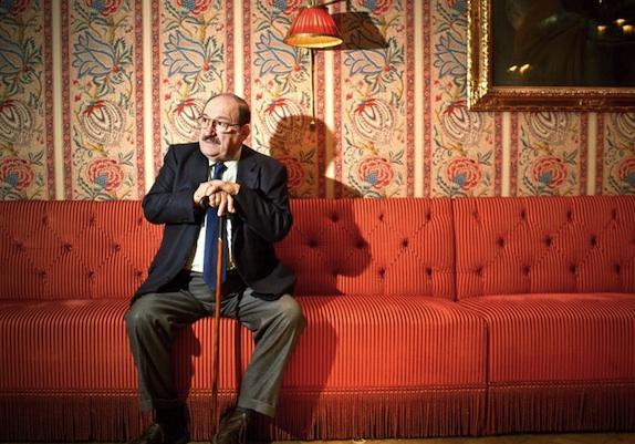 Umberto Eko - 15.10.2009 Frankfurt am Main, Steigenberger Hotel