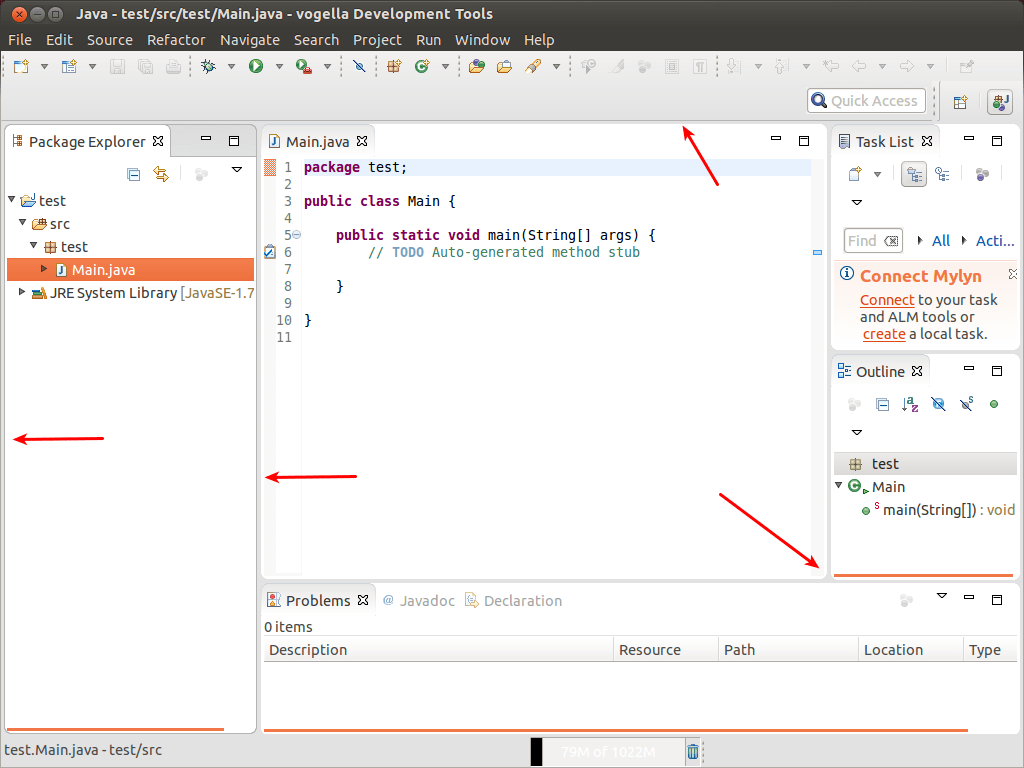 Less Screen Space Waste In Eclipse 4 4