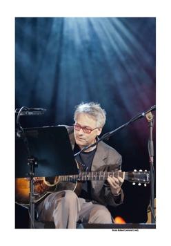 Marc Ribot op Jazz Middelheim door Bruno Bollaert