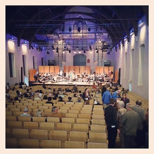 Open repetitie van de Matthäuspassion door Bruno Bollaert