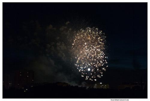Vuurwerk door Bruno Bollaert