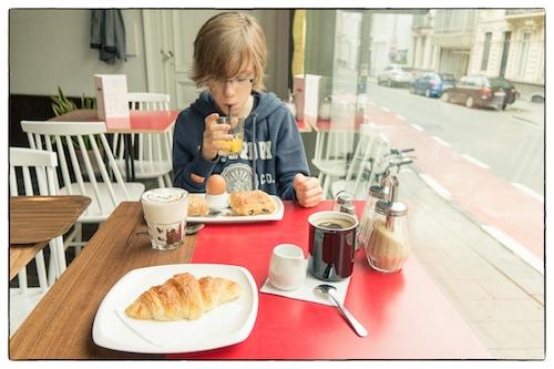 Ontbijt door Bruno Bollaert