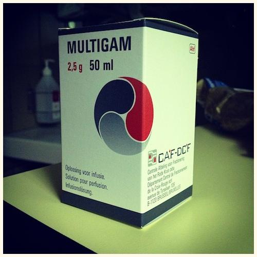 Multigam door Bruno Bollaert