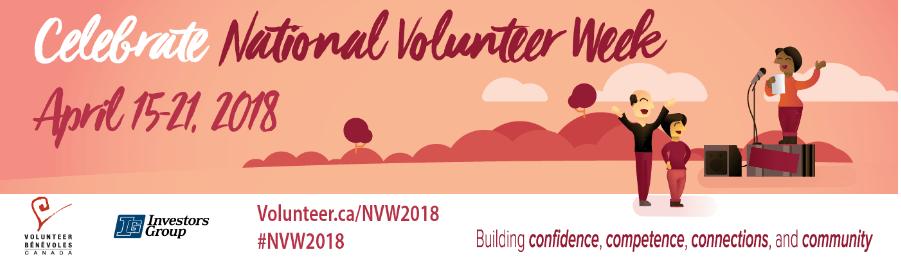 national volunteer week banner