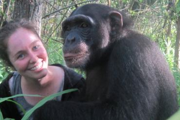 chimpanze center africa min1 Experiences at the Chimpanzee Conservation Center