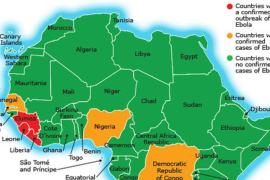 ebola map min min Concerns about an Ebola Outbreak in Ghana