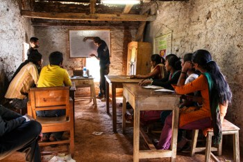 teach english to youths 350x234 Alliance Nepal   Working Towards a Better Future