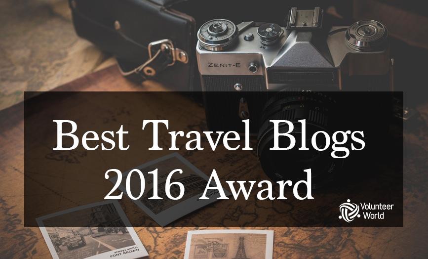 travel blog award 1 Best Travel Blogs 2016 Award