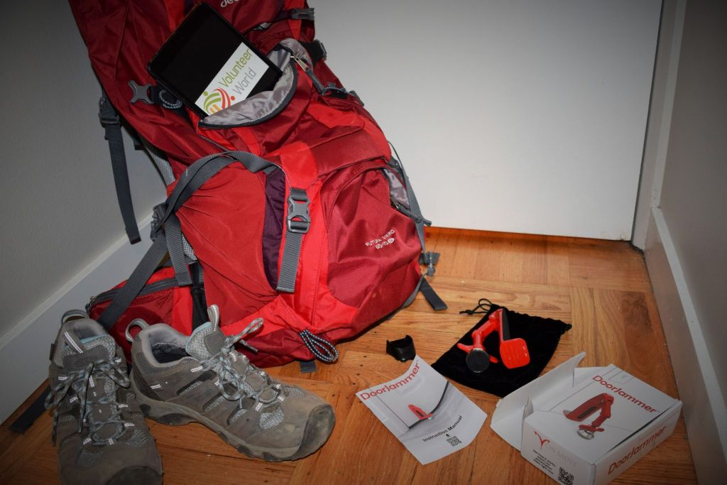 2 1024x683 The DoorJammer   Travel Gadget Review   Volunteer World