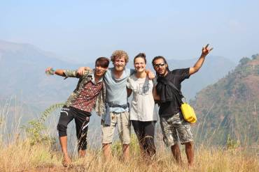 Nepal Building an Outdoor Activity Camp Grouppicture min Short term vs Long term Volunteering