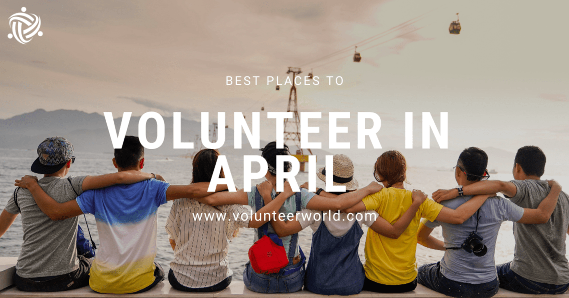 Blogpost feat image Best Places to Volunteer in April [2021]