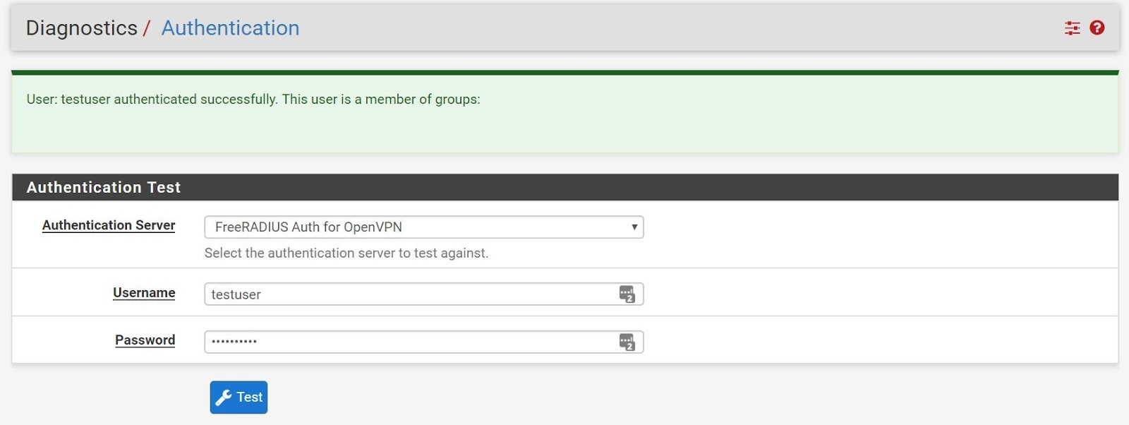 pfSense OpenVPN Setup with FreeRadius3 2fa Authentication