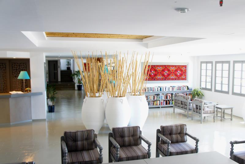 Vritomartis Renovated Reception Area
