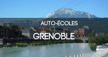 Les auto-écoles de Grenoble