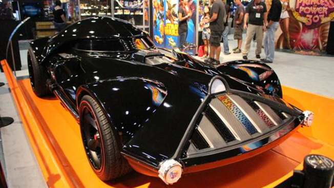 Darth Vader Car From Hot Wheels