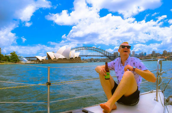 Dave Anderson in Sydney