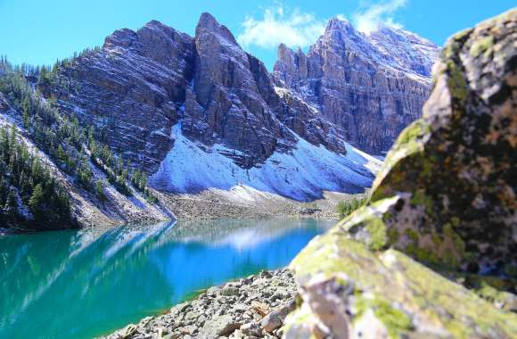 Hiking through Canada's Rocky Mountains
