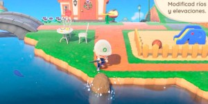 modifica el entorno de animal crossing: new horizon a placer