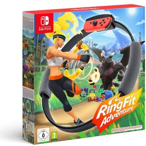 Rebajas Nintendo Ring Fit Adventure fin de Curso Versus Gamers.