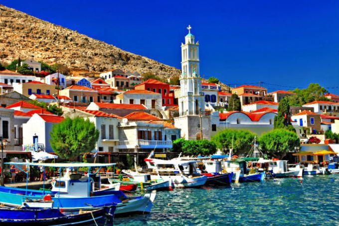 Халки остров, Греция