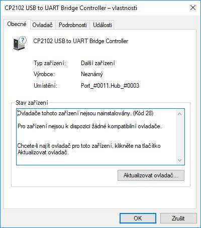 UART Driver Windows