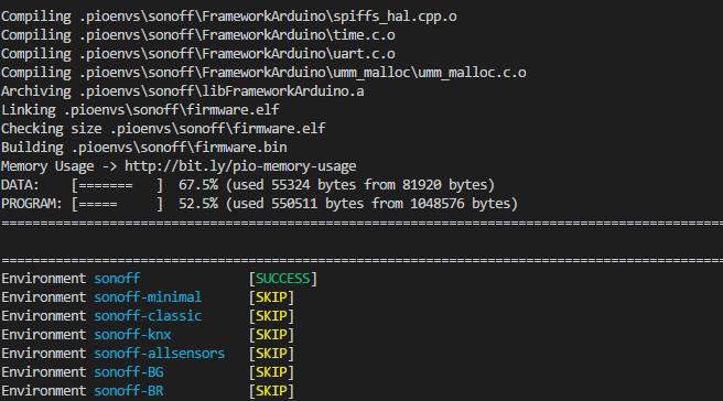 Visual Studio Code build