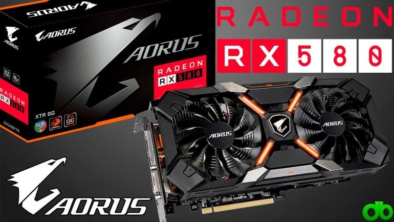 Moje volba - Gigabyte Radeon RX 580 AORUS 8 GB