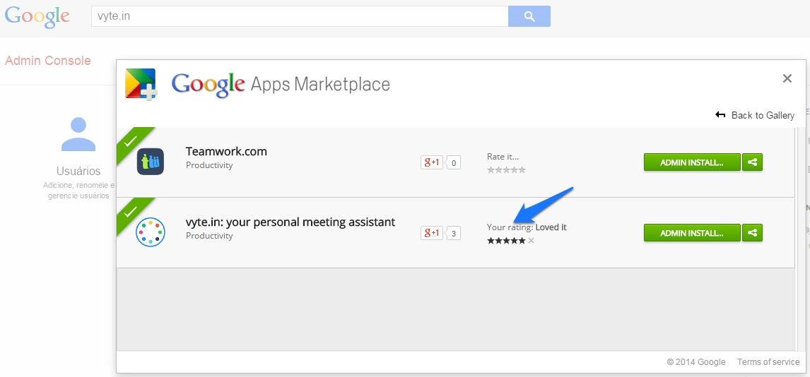 App review|How to rate an app on Google Apps Marketplace? - Vyte