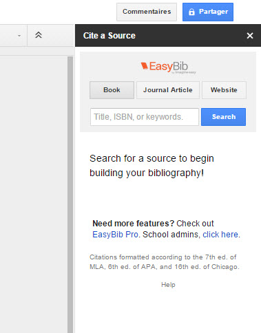 Google Chrome Add On Easybib Vyte Scheduling Made Easy