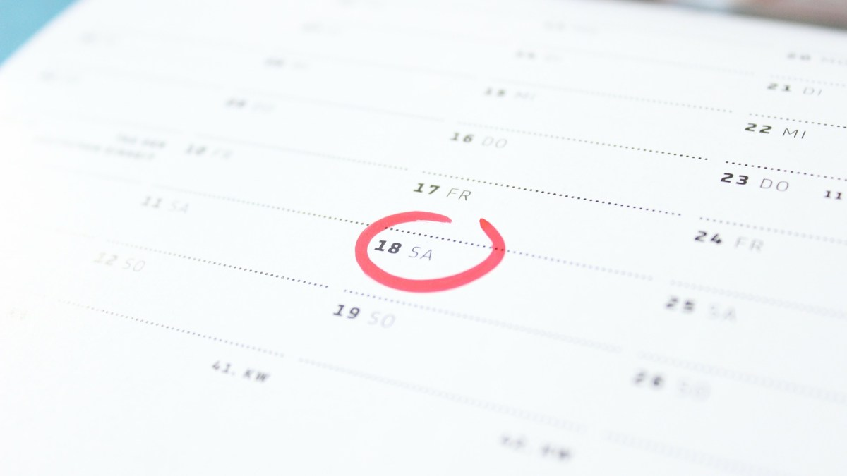 3 Different Ways to Use Your Calendar