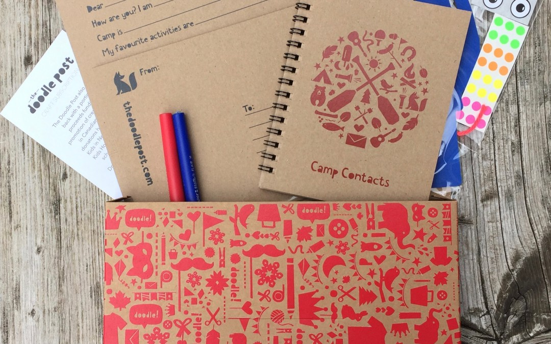 The Doodle Post    Made-in-Canada Craft Subscription for Kids