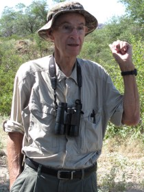 The late Bob Witzeman, Birdwatcher in Chief