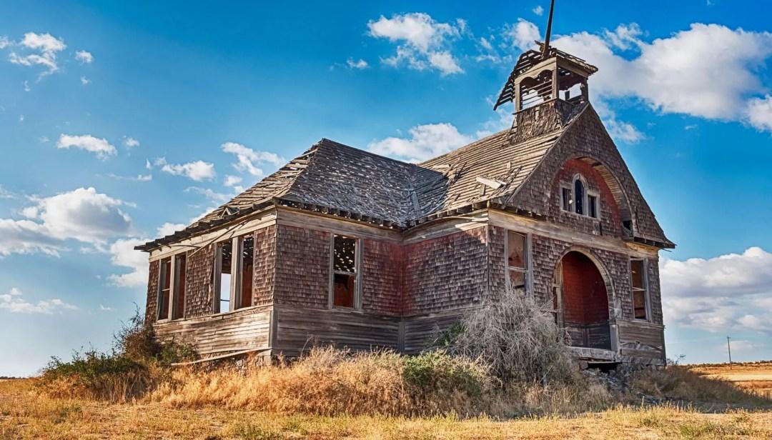Old building in Govan