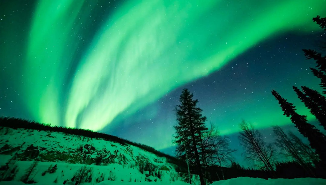 Northern Lights seen in Fairbanks, Alaska