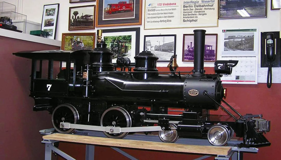 Train Model at the Northern Cascade Railway Museum