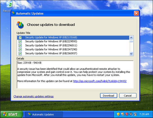 windows-xp-updates