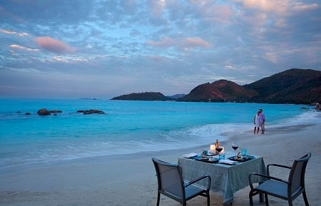 Praslin Islands Seychelles Romantic getaway spots in Africa