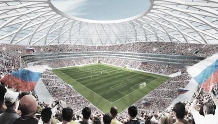 Cosmos Arena stadium in pictures