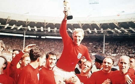 England's 1966 World Cup winning squad