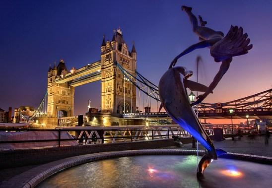 Tower Bridge England Monument River Thames