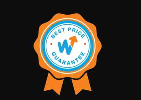Wakanow's best price guarantee hologram